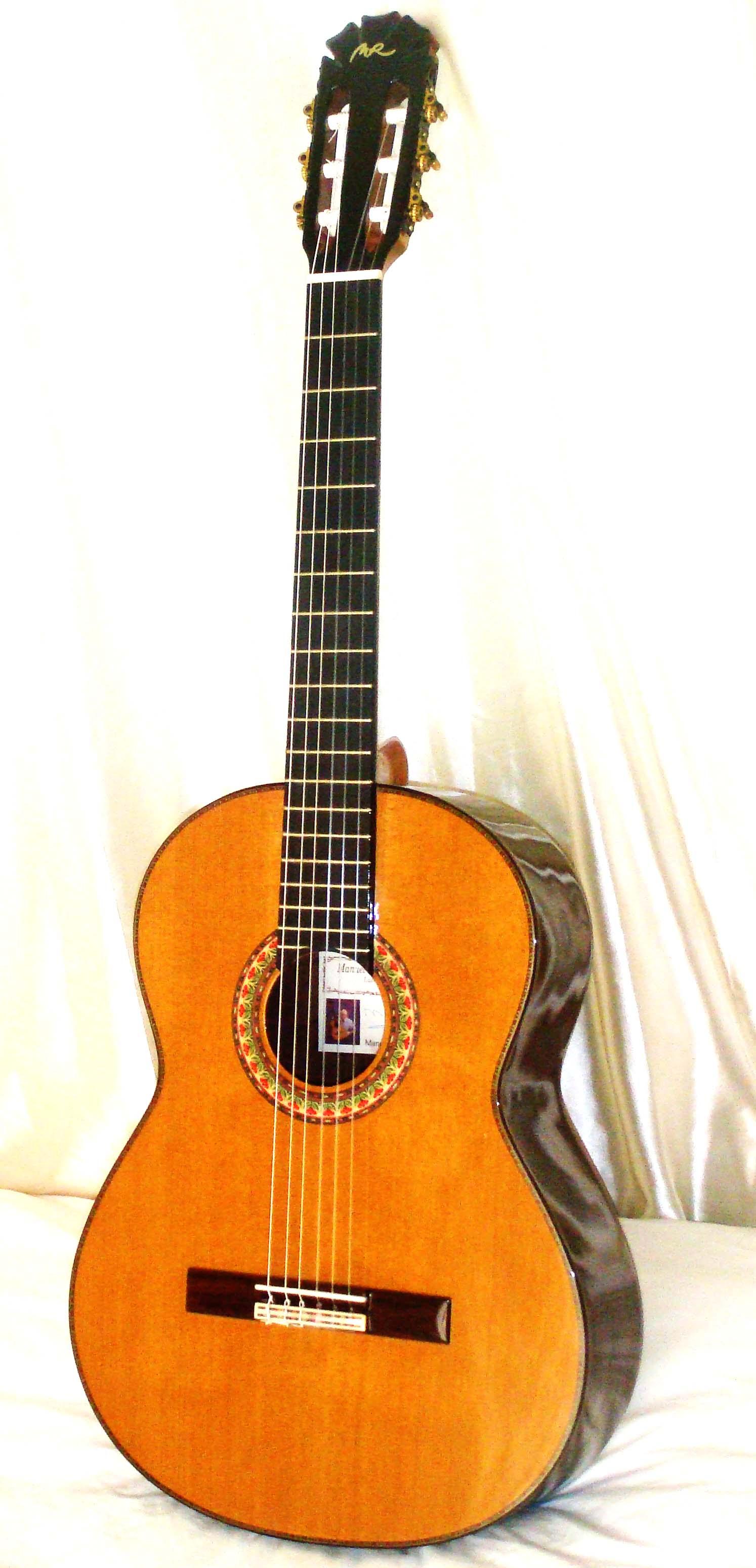 关于吉他的手工制作